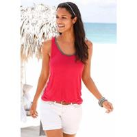 S.OLIVER RED LABEL Beachwear top met glitterdetail