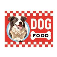 Fiftiesstore Dog Food Magneet