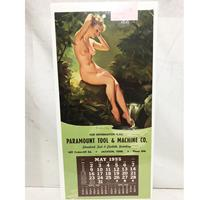 Fiftiesstore Pin Up Kalender 1955 Elvgren Enchanting