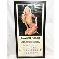 Fiftiesstore Pin Up Kalender 1986 In Lijst