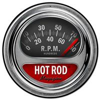 Fiftiesstore Hot Rod Tag Zwaar Metalen Bord