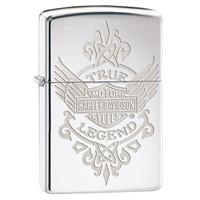 Fiftiesstore Zippo Lighter - Harley-Davidson True Legend