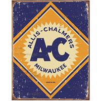 Fiftiesstore Metalen Poster Allis-Chalmers Milwaukee