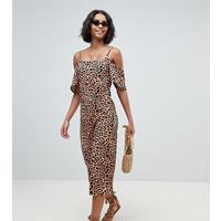 South Beach Jumpsuit met luipaardprint-Multi