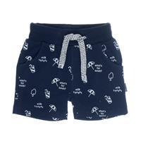 Feetje Girl s Shorts Kapitein koele marinier - Blauw - - Meisjes