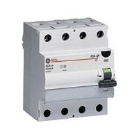 Generalelectric Aardlekschakelaar 4-polig 40 A 0.03 A 400 V General Electric 604208