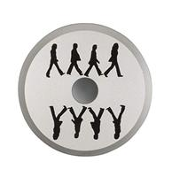 Fiftiesstore Crosley 45'er Adapter Beatles Abbey Road Weerspiegeling