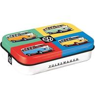 Fiftiesstore Volkswagen Bulli Pop Art Mint Box XL
