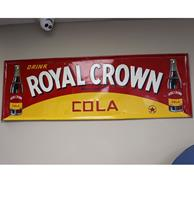 Fiftiesstore Retro Drink Royal Crown Bord - Consignatie