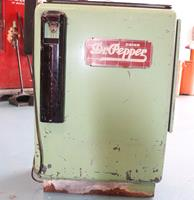 Fiftiesstore Ideal 35 Slider Dr. Pepper Origineel Met Originele Signs - Consignatie