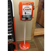 Fiftiesstore Vendo Munten Wisselaar - Orange Crush Fantasy - Consignatie