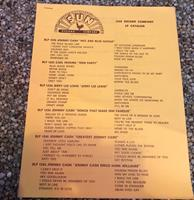 fiftiesstore Sun Records LP Catalogus - Origineel