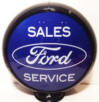 fiftiesstore Ford Service Benzinepomp Bol - Special