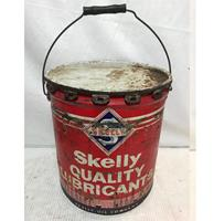 fiftiesstore Skelly Quality Lubricants Olieblik