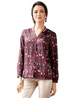 Amy vermont Blouse  Zwart::Bordeaux