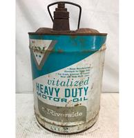 fiftiesstore Vitalized Heavy Duty Motor Olieblik