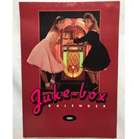 fiftiesstore Jukebox Kalender Uit 1991