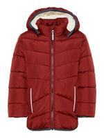 NAME IT !Winterjas - Bordeaux Rood - Polyester