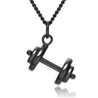 mendes Dumbbell Kettinghanger  Jewels Black