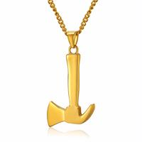 mendes Jewels kettinghanger heren Gold Axe