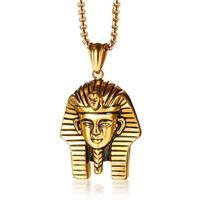 mendes herenketting Edelstaal Verguld Egyptische Farao