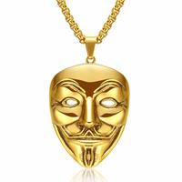 mendes V for Vendetta kettinghanger Gold