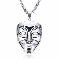 mendes V for Vendetta kettinghanger Silver