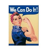 fiftiesstore We Can Do It Magneet