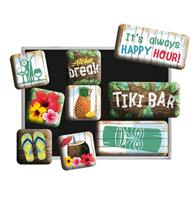 fiftiesstore Magneet Set Tiki Bar