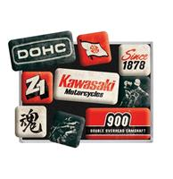 fiftiesstore Magneet Set Kawasaki Motorcycles Since 1878