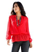 Blouse AMY VERMONT rood