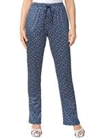 Your look for less! Jersey pantalon, marine/millefleurs