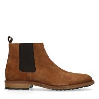 Sacha Camel suède chelsea boots - beige