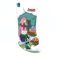 fiftiesstore Adventure Time Printed Christmas Stocking