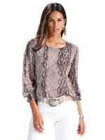 Amy vermont Blouse  Taupe::Bruin