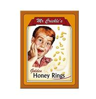 fiftiesstore Magneet Mr. Crickles Honey Rings