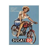 fiftiesstore Magneet Ducati Pin up