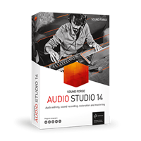 Magix SOUND FORGE Audio Studio 14