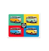 fiftiesstore Magneet VW Bulli - Pop Art