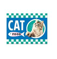 fiftiesstore Magneet Cat Food