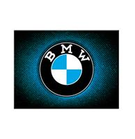 fiftiesstore Magneet BMW - Logo Blue Shine