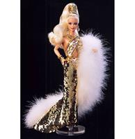 fiftiesstore Bob Mackie Gold Barbie® Doll In Originele Verpakking
