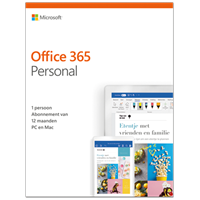 Microsoft Office 365 Personal - Apple iOS, Android, PC, Mac - Frans