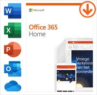 Microsoft Office 365 Home - PC, Mac - Frans
