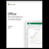 Microsoft Office voor Mac 2019 Thuisgebruik& Zelfstandigen