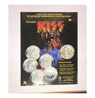 fiftiesstore Originele Kiss Flyer - Liberty Mint 1997