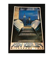 fiftiesstore Ken Keeley Promotie Poster 91 x 61.5 cm