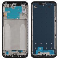 Front behuizing LCD-frame bezel plaat voor  Redmi Note 8 (zwart)