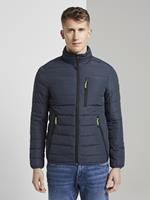 Tom Tailor Lichtgewicht Jack, Heren, Dark Blue Melange