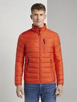 Tom Tailor Lichtgewicht Jack, Heren, deep fiery orange